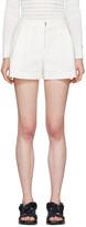 3.1 Phillip Lim White Tailored Bloomer Shorts