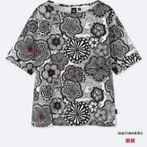Uniqlo Women's Marimekko Short-sleeve Graphic T-Shirt