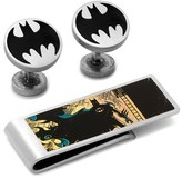 Cufflinks Inc. Cufflinks, Inc. 'Vintage Batman' Cuff Links & Money Clip Set