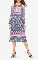 BCBGMAXAZRIA Zuzana Cold-Shoulder Dress