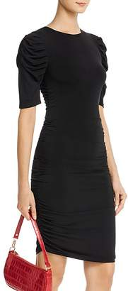 Aqua Ruched Body-Con Dress - 100% Exclusive