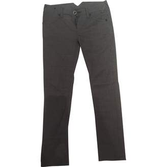 Cycle Grey Wool Trousers for Women