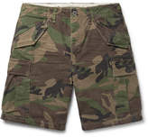 Polo Ralph Lauren Camouflage-Print Cotton Cargo Shorts