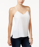 Jessica Simpson Juniors' Crochet-Trim Camisole