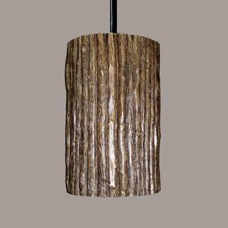 Millwood Pines Azu 1 - Light Single Cylinder Pendant Bulb Type: Incandescent