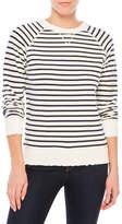 Earnest Sewn Striped Sweatshirt