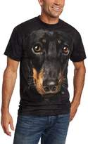 The Mountain Men's Daschund Face T-shirt