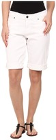 CJ by Cookie Johnson Honor Roll Up Bermuda in Optic White
