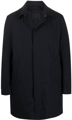 Emporio Armani Hooded Rain Coat