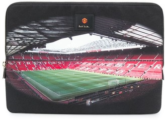 Paul Smith x Manchester United stadium print laptop case