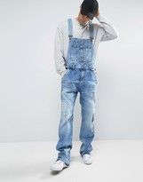 Pepe Jeans Pepe Dougie Overalls Patches and Rip and Repair