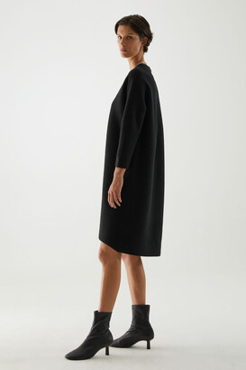 Cos Boiled Merino Wool Dress
