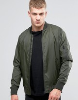 Jack and Jones Lightweight Nylon Bomber