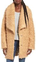 Moon River Carmel Boucle Coat