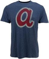 '47 Men's Atlanta Braves Scrum Coop Logo T-Shirt