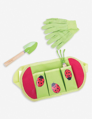 Bigjigs Gardening belt and tools set of four