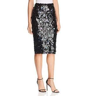 Parker Women's Glenda Full Sequin Knee Length Pencil Skirt