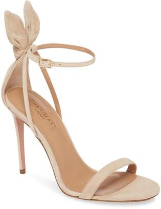 Aquazzura Bow Tie Stiletto Sandal