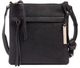 Vince Camuto Felax Leather Crossbody Bag - Black