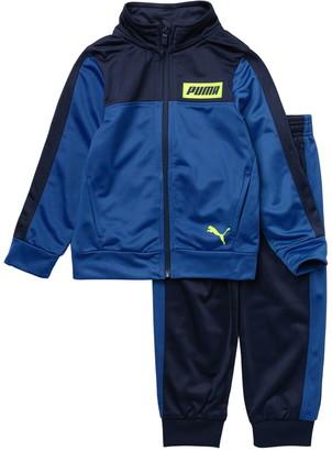 Puma Tricot Track Jacket & Joggers 2-Piece Set