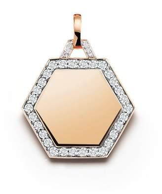 Walters Faith Dora 18K Diamond Hexagon Charm