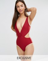 South Beach Red Mist Swimsuit