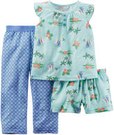 Carter's 3-pc. Sailboat Pajama Set - Baby Girls 12m-24m