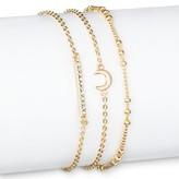 SUGARFIX by BaubleBar Trio Bracelet Set - Gold