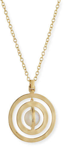 Ippolita 18K SensoTM Double Open Disc Necklace in Mother-of-Pearl