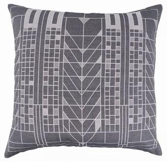 Frank Lloyd Wright Tree of Life Jacquard Cotton Throw Pillow