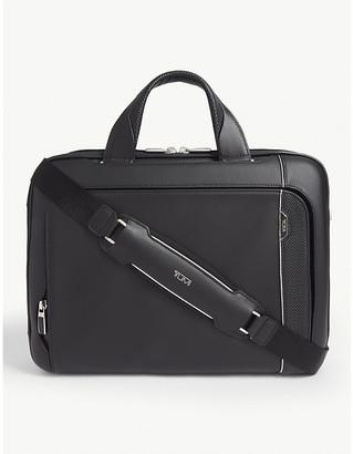 Tumi Sadler leather briefcase