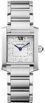 Cartier Women's WE110007 Tank Francaise Analog Display Swiss Quartz Watch