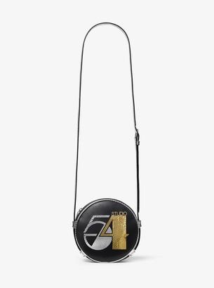 Michael Kors Studio 54 Python Intarsia and Calf Leather Canteen Crossbody Bag