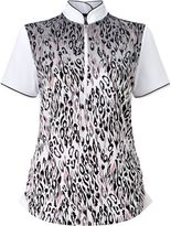 Callaway Animal Print Polo