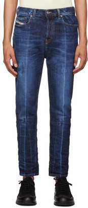 Diesel Blue Classic Vintage D-Vider Jeans