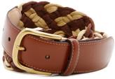 Tommy Bahama Tidal Wave Braided & Leather Belt
