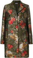 P.A.R.O.S.H. floral tiger print coat