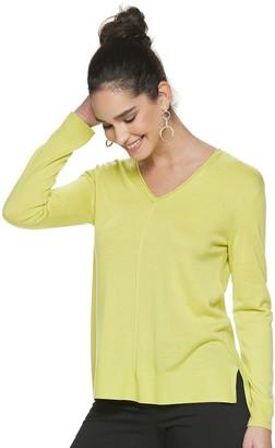 Apt. 9 Women's V-Neck Pullover Sweater