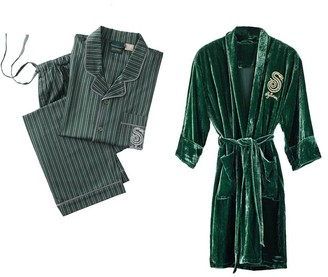 Pottery Barn Teen HARRY POTTER SLYTHERIN Teen Pajama & Robe Set