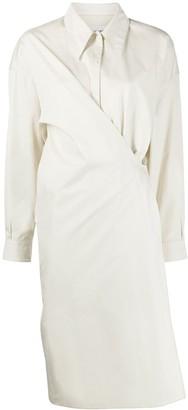 Lemaire Twist-Detail Shirt Dress