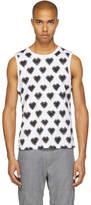 Facetasm White and Black Heart T-Shirt