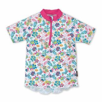 Sterntaler Baby Girls' Kurzarm-schwimmshirt Rash Guard Shirt