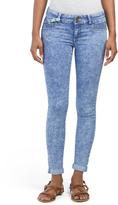 Juniors Acid Wash Skinny Jeans
