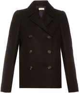Balenciaga Double-breasted wool-blend pea coat