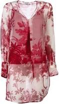 Dondup Floral Print Blouse
