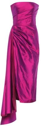 Rasario Silk midi dress