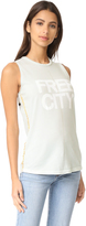 Freecity Str8up Pinned Sleeveless T-Shirt