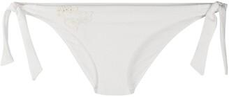 La Perla Embroidered Tulle Bikini Bottoms