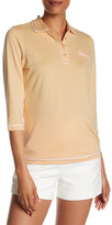 Peter Millar 3/4 Length Sleeve Piped Polo