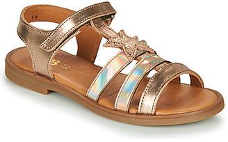 GBB OLGA girls's Sandals in Gold